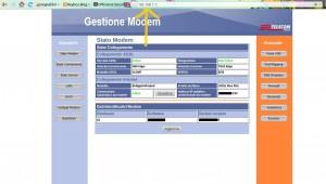 Pannello di configurazione del modem - Reyboz Blog