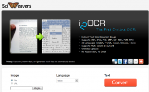 Estrarre testo dalle immagini con i2ocr - Reyboz Blog