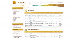 Motore di ricerca torrent Torrentbit - Reyboz blog