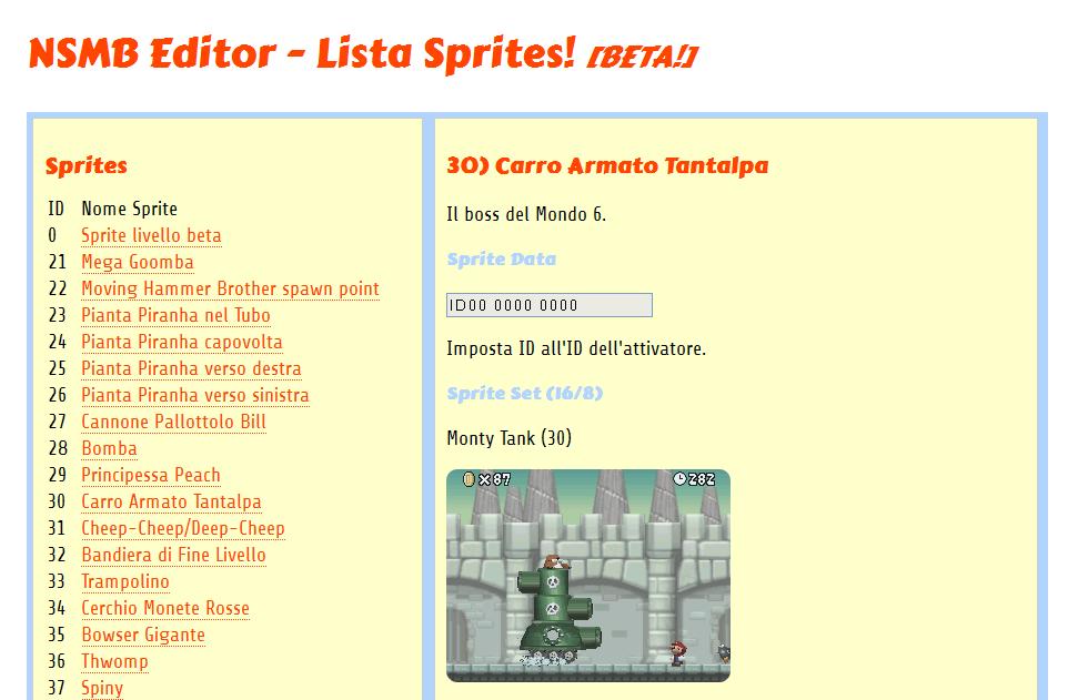 Guida Sprites in Italiano - NSMB Editor - Reyboz Blog